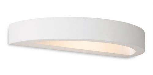 Firstlight 8605 White Shimmer LED Plaster Wall Light